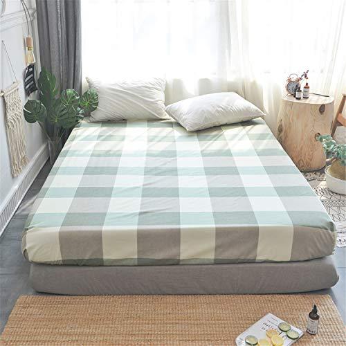 LYJZH Matratzeschoner in verschiedenen Größen | Hygienischer Anti-Milben Matratzebezug | Wasserundurchlässiger Matratze-Schutz | Bettlakenbezug aus Baumwolle 31 120 * 200 cm -