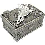 PALLION Silver Plated Lord of the Rings Arwen's Evenstar Pendant Necklace with Jewelry Box Women,Girls ¡