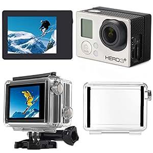 XCSOURCE Écran LCD Bacpac LCD Affichage + Étui de Protection pour GoPro Hero 3+ et GoPro Hero 4 OS329