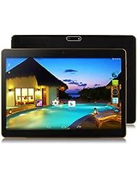 Fuibo Tablet PCs, 10,1 Zoll 4G + 64G Android 6.0 Dual Sim Dual Kamera Telefon Wifi Phablet Tablet PC