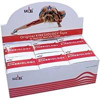 NASARA Kinesiologie Tape kinesiologische Tapes * rot * 5m x 50mm * Spenderbox (6er VE Umkarton) preisvergleich bei billige-tabletten.eu