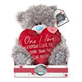 "9"" One I Love Padded Heart Me to You Bear"