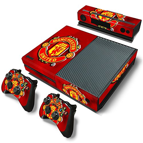 manchester-united-fc-xbox-one-decal-skin-cover-stickers-for-console-and-2-controllers