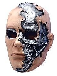 New Kids Terminator Salvation T600 Cyborg Costume Mask Boys Child Standard