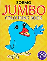 Amazon Brand - Solimo Jumbo Colouring Book