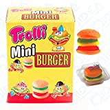 100 MINI BURGER GOMMOSI CARAMELLE GOMMOSE TROLLI HAMBURGER PANINO BIG MAC