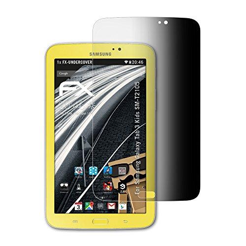ilter kompatibel mit Samsung Galaxy Tab 3 Kids SM-T2105 Blickschutzfolie, 4-Wege Sichtschutz FX Schutzfolie ()