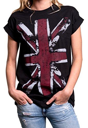 MAKAYA - T-shirt - Manches Courtes - Femme Noir