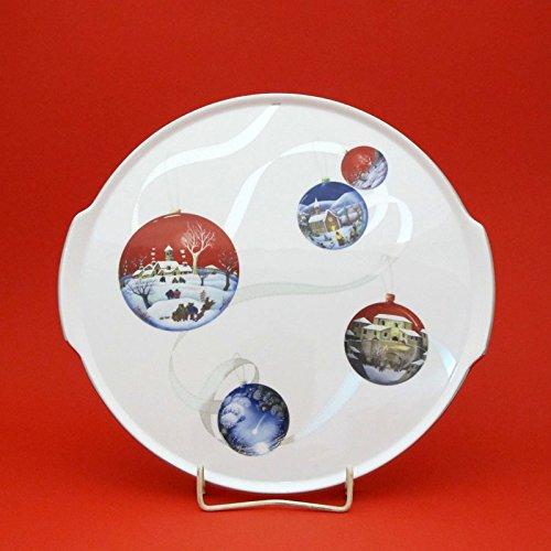 Plat à tarte Richard Ginori en porcelaine diamètre 31,5 cm