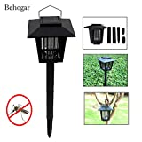 Generic Solar Powered Bug Zappers Review and Comparison