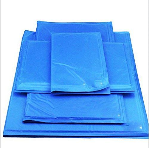 GULUDED Pet Schwamm Eis Pad Comfort Pet Chill Sitzkissen Selbstkühlbett Gel Pads Sommer Eis Cool Matratze Schlaf Bett für Hunde Katzen 30 * 40 cm (Chill Pad)