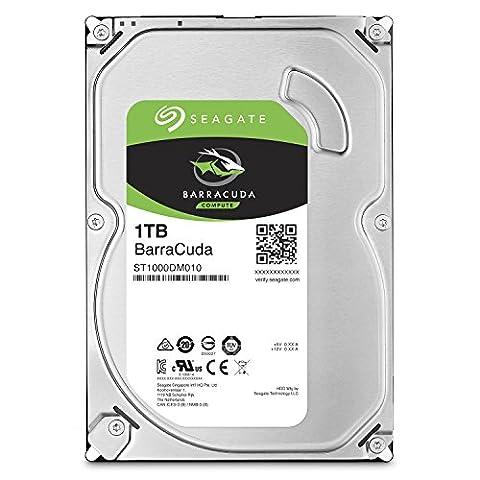 Seagate Barracuda 7200Desktop 1 TB Hard