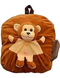 PRACHI Toys'' Cute Monkey Soft Toy For School Bag For Kids, Travelling Bag, Carry Bag, Picnic Bag, Monkey Bag...