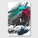 Arty Pie Martin Luther King 4 V2 Poster Print, Mehrfarbig, A1/84,1 x 59,4 cm/33.1 x 23.4-inch