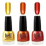 #4: MI Fashion® Crazy-Chromey-Shiny Luxurious Collection of Chrome Nail Polish Set of 3, Extra Shine on Nails with Non Toxic Power Lasting Formulation