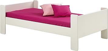 Einzelbett kinder  Steens für Kinder Einzelbett, inkl. Lattenrost, MDF, 90x200 cm ...