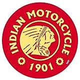 1art1 Motociclette - Indian Motorcycle, 1901 Sticker Adesivo (9 x 9cm)