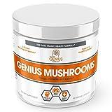 The Genius Brand Genius Mushroom Capsules, 90-Count