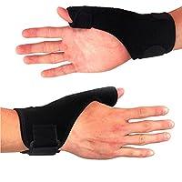 LANYUER One Pair Thumb Wrist Support Brace Guard Support Splint Stabiliser Sprain Arthritis Spica