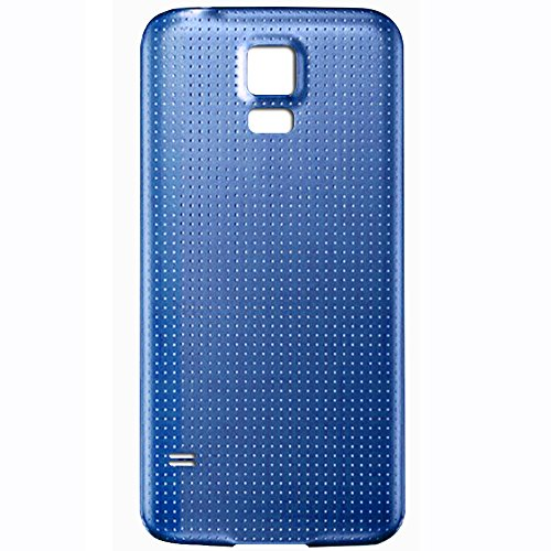 UU FIX Copri Batteria Back Cover per Samsung Galaxy S5 i9600 i9605(Azzurro) Posteriore Battery Door Ricambio.