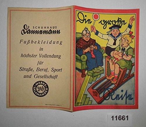 Bestell.Nr. 911661 Die Große Reise (Werbung Malheft Fa. Salamander)