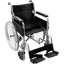 NRS Healthcare–Silla de ruedas autopropulsada transit-lite ligera, plegable y