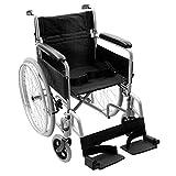 NRS Healthcare-Silla de ruedas autopropulsada transit-lite ligero plegable