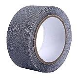 Godagoda Antirutsch Band PVC Klebeband Transparent oder Weiss Antirutschband Antirutschbelag Treppe Stufe Sicherheit 5cmx5m/5cmx15m
