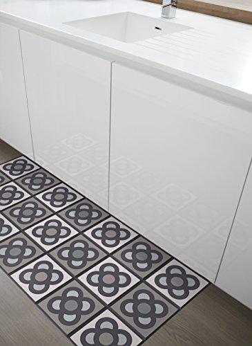 ALFOMBRA DE COCINA. Se limpia fácilmente con una fregona. Made in Barcelona. Decora tu cocina y dale un toque de color. Barcelona Easy 60x140.