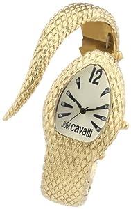 Reloj Just Cavalli R7253153517 de cuarzo para mujer con correa de acero inoxidable, color dorado de Just Cavalli