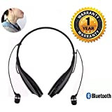 Bainsh Samsung Compatible HBS-730 Neckband Bluetooth Headphones Earphones Wireless Sport Stereo Extra Bass Headsets With Microphone For Smartphones (Colour May Very)