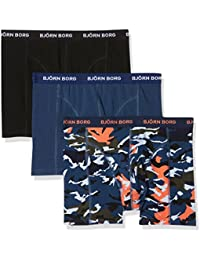 Björn Borg Men's Boxer Shorts Pack of 3