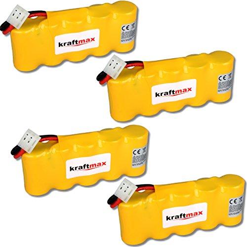 4x Kraftmax Akku für Bosch SOMFY K8 K10 K12 - 6V / 2000mAh NIMH - Hochleistungs- Akku mit über 42{161320a0b6d7b2755d742dad20c1b0282866b0772f9a7eee15a987a317fe3d4a} mehr Leistung gegenüber den Akku mit 1400 mAh