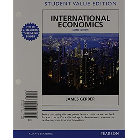 International Economics, Student Value Edition Plus NEW