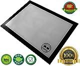 Tapete de Cocción Silicona Platinum   Lámina de Silicona para Horno   Tapete para Hornear   Dimensiones 30x40 cm