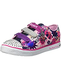 Skechers Twinkle Breeze Pop Tastic, Baskets Basses Fille