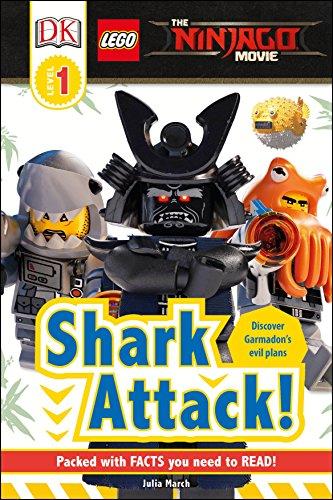 DK Readers L1: The Lego(r) Ninjago(r) Movie: Shark Attack! (DK Level 1: The Lego Ninjago Movie) por Dk