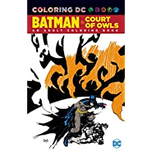 BATMAN THE COURT OF OWLS COLORING BOOK