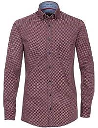 d878dc73ce01 Casa Moda - Comfort Fit - Herren Hemd mit modischem Druck mit Button-Down-
