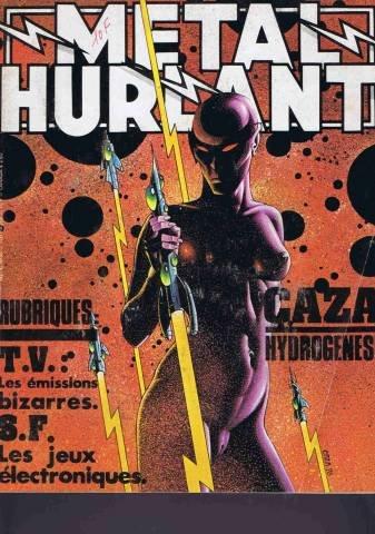 Metal hurlant N30 caza hydrogenese