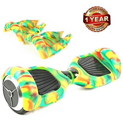 Coloré Coque de Protection en Silicone Peau Pour Housse en 6,5 pouces Smart d'équilibre Autoéquilibrage Trottinette électrique Hoverboard Scooter