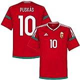 Ungarn Home Trikot 2016 2018 + Puskas 10 (Fan Style) - M