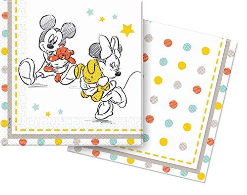 Unique Party Supplies Tischdecke für Babypartys, Kunststoff, Disney, 1,8m x 1,2m