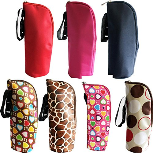 Hunpta New Baby Thermal Feeding Bottle Warmers Mummy Tote Bag Hang Stroller 51h3LF 2B9SzL