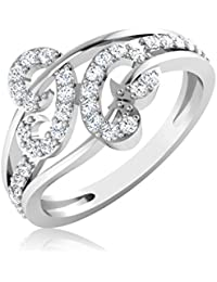 IskiUski 14KT Gold And Diamond Ring For Women - B01N6XHCF3