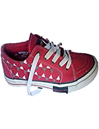 Sparx Boys Shoes Red Cotton 7