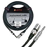 Joyo cm-08 Câble XLR M / Jack 6.3mm M - 38cm