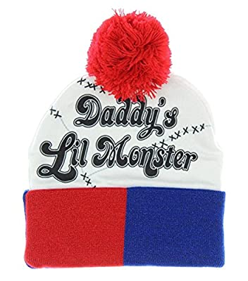 Suicide Squad Harley Quinn Daddy's Little Monster Snow Hat