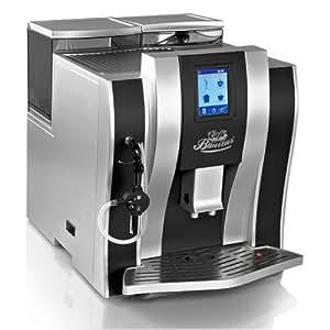CAFE BONITAS / CubeStar Silver-Black / Kaffeevollautomat / Touchscreen / Wochentimer / 19 Bar / 1,6L Tank / Kaffeeautomat