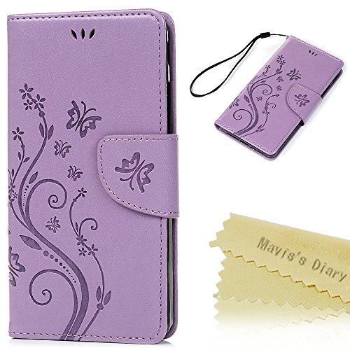 bq Aquaris E5s/E5 4G LTE Funda Libro de Cuero Impresión Suave PU Leather...